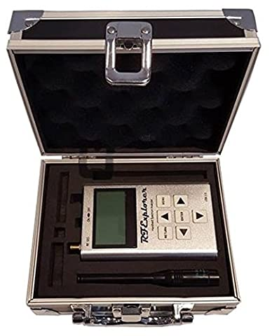 RF Explorer WSUB1G - Handheld Spectrum Analyzer with Aluminium Carrying Case
