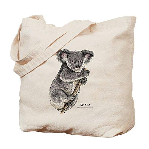 CafePress – Koala – Naturel Sac en toile, tissu, Sac de courses