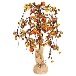 Honig-in-Me-gro-WILLOWING-Krbis-Fall-Medley-19-x-5-Kunstpflanze-Ernte-Baum