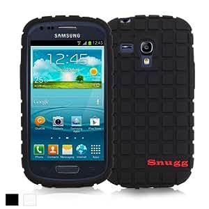 Snugg Galaxy S3 Mini Silicone Case in Black - Non-Slip Material, Protective Lightweight Case for Samsung Galaxy S3 Mini`