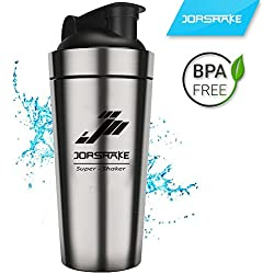 JORSHAKE 700 ml Sportmixer Fitness Coctelera Proteínas (700ml)