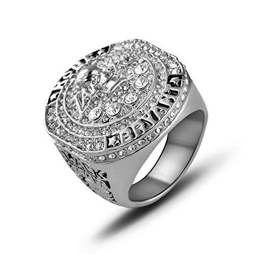 S-P Champion Ring Fan High-End Kollektion Ring Fans Geschenk Dekoration Ring, Silber, 9
