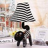 Meng Katze Tuch nette entz¨¹ckende Tier Lampe warme pastoralen Cartoon kreative Kinder Zimmer Schlafzimmer Nachttischlampe Nachtlicht