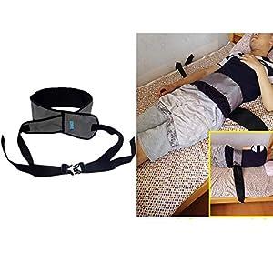 Taillengürtel, Composite Atmungsaktives Mesh-Tuch, Gepolsterte Gürtel Für Rollstuhl Oder Bett