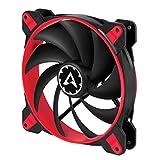 ARCTIC BioniX F140 - 140 mm Ventilatore Portatile da Gioco PWM PST | Ventilatore PST (PWM Sharing Technology) | Regolatore RPM in Sincrono - Rosso