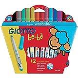 Flamastry Giotto BeBe 12 kolorów