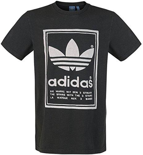 adidas Japan Archive Shirt, Herren XL Black (schwarz)