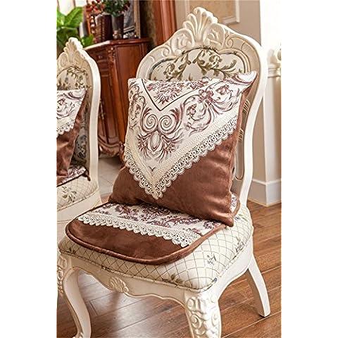 ALUK-tappezzeria continentale sedia tessuto cuscino pad sedia cuscino cuscino slitte