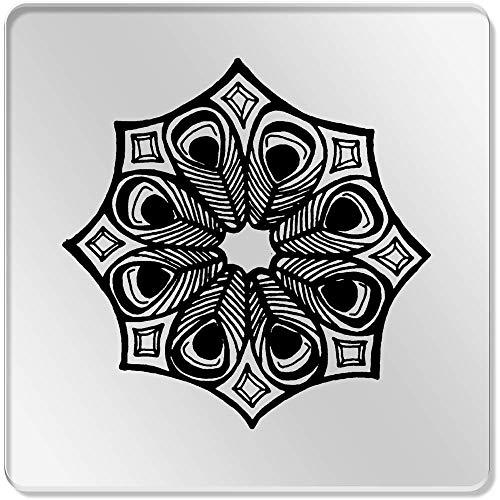 Azeeda 6 x 'Kaleidoskop Muster' Klar Untersetzer (CR00095841)