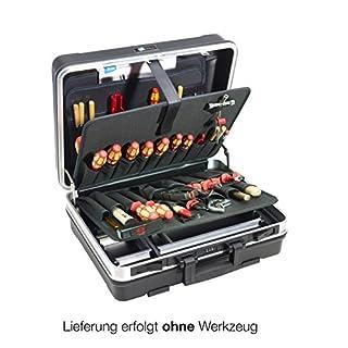 B&W International GmbH 120.02/P Tool case Set Base 46x17x35,5 cm 9-Piece, Black/Silver, 46 x 17 x 35.5 cm