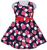 #10: Girls daily wear , summer wear 100 % cotton Girls dresss Model 2