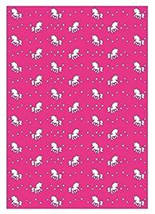 Ursus 10 Hojas de cartulina fotográfica 60950016, de 300 g/m², Aprox. 23 x 33 cm, para decoración, Paquete de Regalo y diseño de Tarjetas, Color Rosa