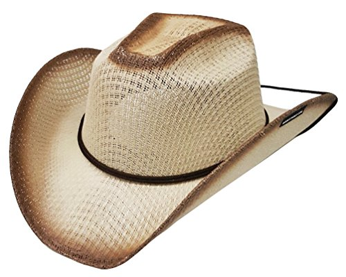 46977789f03c76 Caratteristiche ed informazioni su modestone kids straw cappello cowboy  chinstring ''sizes for small heads'' beige