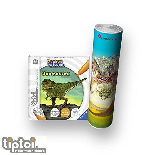 Ravensburger-tiptoi–Buch-4-7-Jahre-Pocket-Wissen-Dinosaurier-Kinder-Dino-Poster-Pocketwissen-tip-toi tiptoi Ravensburger Buch 4-7 Jahre | Pocket Wissen – Dinosaurier + Kinder Dino Poster | Pocketwissen, Tip TOI -