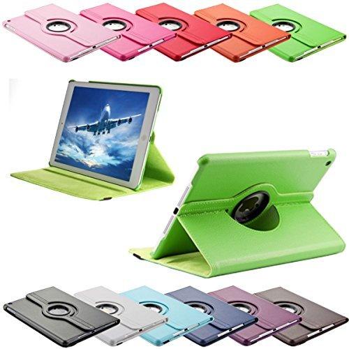 SVS-Trade 360 ° Tasche für Apple iPad 2/3 / 4 routierbar mit Ständerfunktion Schutz Smart Cover Case (iPad 2/3 / 4, Grün)