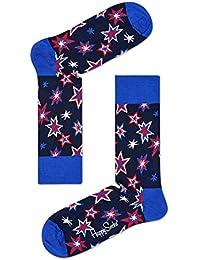 Happy Socks Bang Bang Feux D'artifice Chaussettes Hommes, Marine