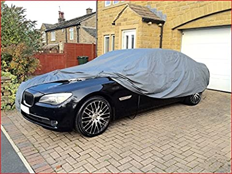 WATERPROOF CAR COVER 1978 MERCEDES BENZ 200 W123 HEAVY DUTY COTTON LINED SIZE XL