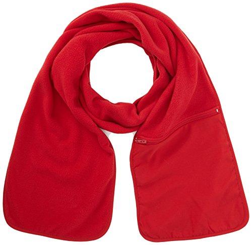 Ergebnis R100A Active Fleece Schal mit Reißverschlusstasche Einheitsgröße rot - Active Fleece