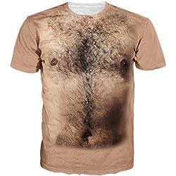 Goodstoworld Buen Dinosaurio T Camisas para Hombres Mujeres 3D Print Verano Cool Casual de Manga Corta Camiseta tee Tops Medio Perezoso