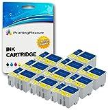 20 Druckerpatronen für Epson Stylus Colour 1160, 1500, 1520, 1520K, 1520H, 740, 740i, 760, 800, 800N, 810, 850, 850N, 850NE, 860, Scan 2000, 2500, 2500 Pro | kompatibel zu T051, T052