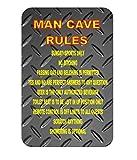 Personalisierte Funny Metal Sign, Werkzeug Regeln: Don 't Touch, move Ausleihen, Look bei, Sie, Garage Schild, Cave Man, Hof Schild, für Innen-/Außenbereich, Metall Schild Zinn 30x 20cm.