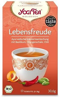 Yogi BIO Lebensfreude Tee 17 Beutel, 30,6 g von Golden Temple - Gewürze Shop