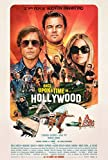 Once Upon A Time in.Hollywood - Affiche de Cinéma Originale - 40x53 cm - Pliée