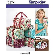 Simplicity 2274 - Patrón de costura para bolsos