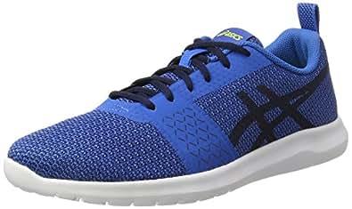 Asics Kanmei, Chaussures de Gymnastique Homme, Bleu (Directoire Blue/Peacoat/Energy Green), 41.5 EU