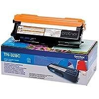Brother Original Super-Jumbo-Tonerkassette TN-328C cyan (für Brother HL-4570CDW, HL-4570CDWT, DCP-9270CDN, MFC-9970CDW)