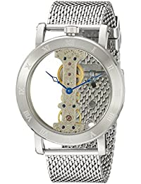Burgmeister Herren-Armbanduhr Analog Handaufzug Edelstahl BM331-101