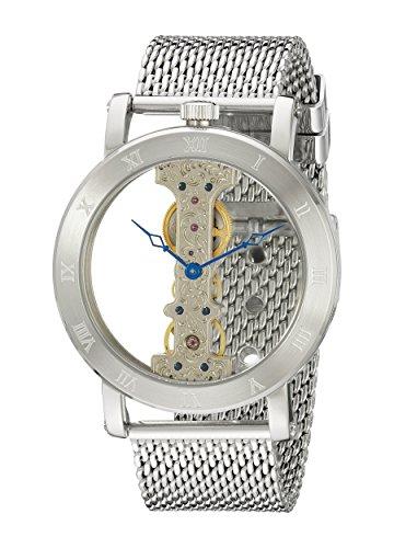 Burgmeister Armbanduhr für Herren mit Analog Anzeige, Handaufzug-Uhr mit Edelstahl Armband - Wasserdichte Herrenuhr mit zeitlosem, schickem Design - klassische Uhr für Männer - BM331-101 Tulsa