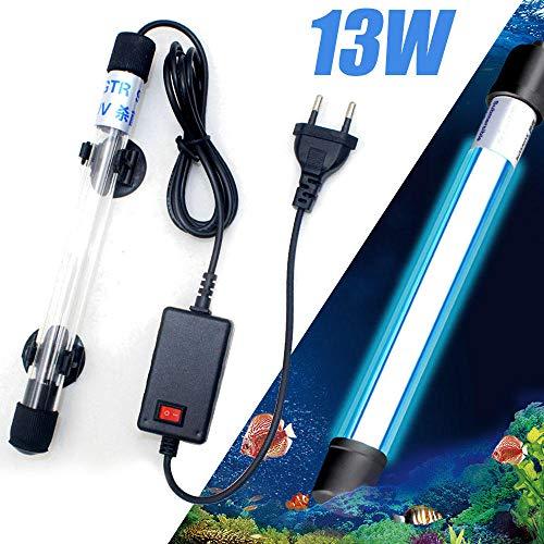 13W LED Aquariumbeleuchtung Unterwassertauchlampe UV UV Sterilisatorlampe
