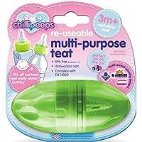 Chillipeeps CHILLIPEEPS-TEAT 3 in 1 Mehrzweck-Trinksauger für Babys