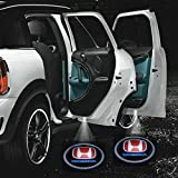 #9: Kalaka Trading 2X Car Logo Led Shadow Welcome Light Door Projector For Honda Mobilio Rs Option I Dtec (Diesel)