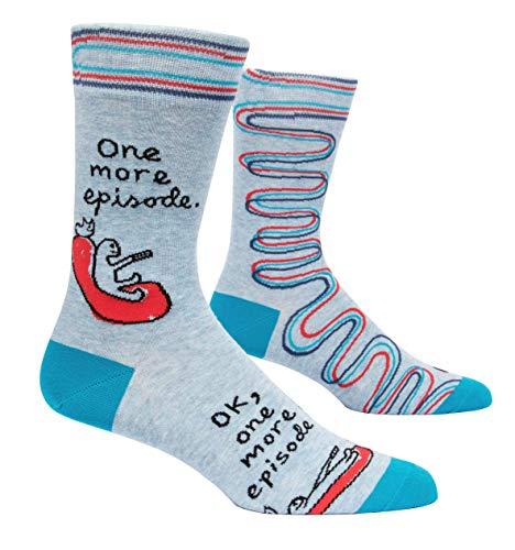 Blue Q Herren Crew Socken One More Episode