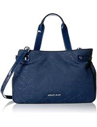 Armani Jeans bolso de mano para compras mujer nuevo blu