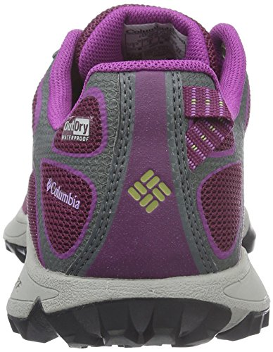 Columbia Conspiracy Iv Outdry, Scarpe Sportive Outdoor Donna Viola (Dark Raspberry, Cool Moss 520Dark Raspberry, Cool Moss 520)