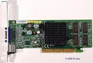 nVidiao Carte graphique AGP Carte vidéo NVidia GeForce4MX420S de v id2631