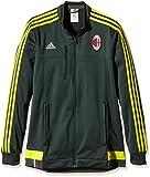 adidas Herren Trainingsjacke AC Mailand Anthem, deegrn/byello, L, AA1659