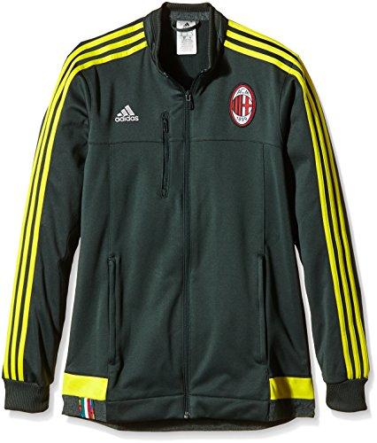 Ac Mailand Jacke (adidas Herren Trainingsjacke AC Mailand Anthem Jacke, deegrn/Byello, XS)