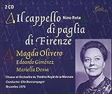 Rota: Il Cappello Di Paglia Du Firenze (Gesamtaufnahme) (Aufnahme Brüssel 1976)