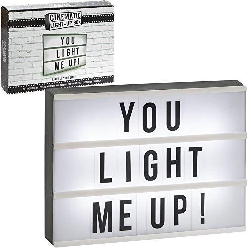 The Leonardo Collection wie im Kino Licht bis Box mit 85Buchstaben 13Zoll (ca. 33cm)