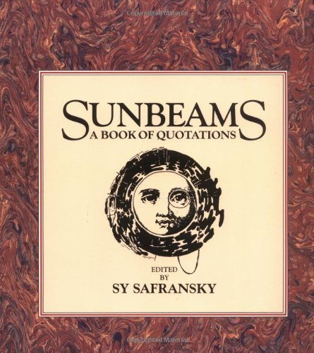 sunbeams-a-book-of-quotations-1993-01-11