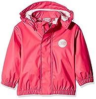 Legowear Girls Jessi 206 Raincoat, Pink (Bright Red), 4 Years (Manufacturer Size:104)