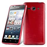 Huawei ASCEND G520 / G525 Silikonhülle in ROT von Cadorabo