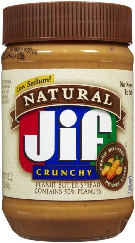jif-natural-low-sodium-crunchy-peanut-butter-spread-16oz-jar-pack-of-6-by-jif