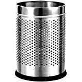 HPR Stainless Steel Perforated Open Dustbin (7X10)