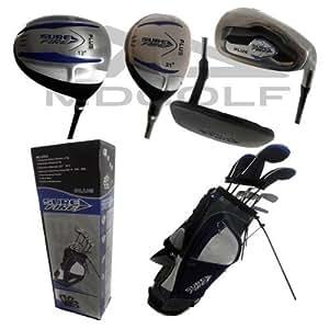 New MD Golf Surefire Plus Full Golf Club Set Putter Irons & Bag