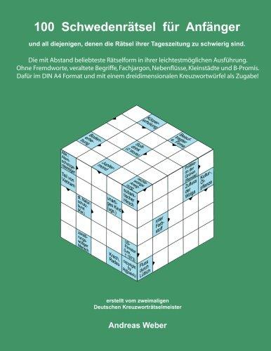 Buchcover 100 Schwedenrätsel für Anfänger: und all diejenigen, denen die Rätsel ihrer Tageszeitung zu schwierig sind